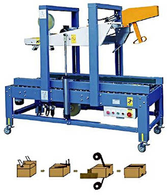 Fully-auto Carton Sealing and Flap Closing  JP-503A